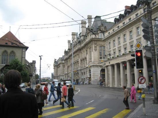 Place St-Francois: St-François Lausanne Suisse