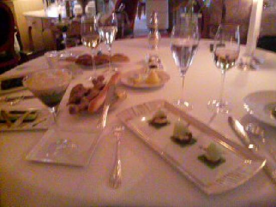 L'Assiette Champenoise: シャンプノワーズのディナー♪