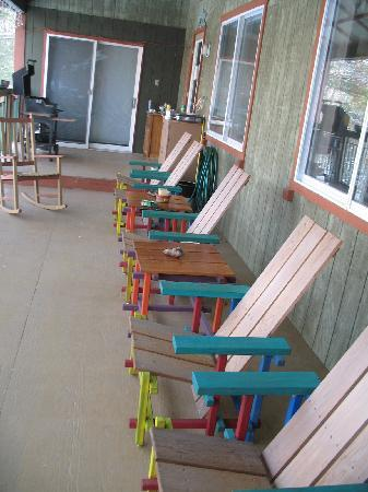 Hill Home Forge: porch handmade chairs