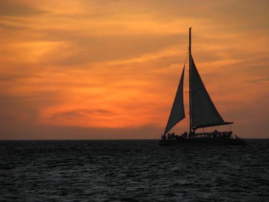 Strea Charters: Amazing sunset!