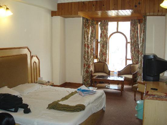 Hotel Kanishka: room inside view