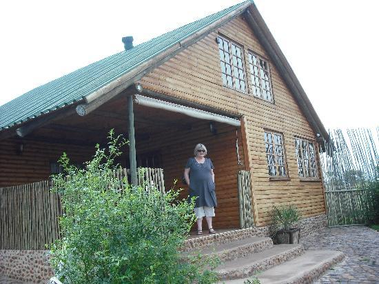 Magaliesburg, South Africa: Our cottage at Stone Hill. Relaxation is the name of the game here.