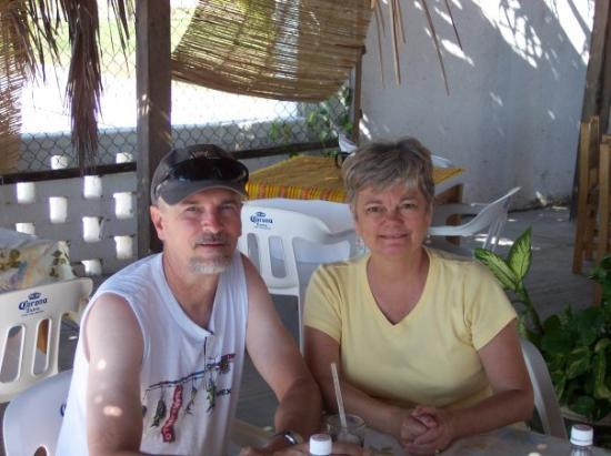 Restaurante Juanitos: My Parents at a restaurant