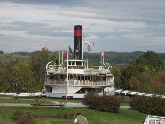 Ticonderoga at the Shelburne Museum