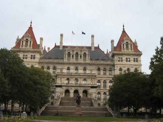 ‪‪Albany‬, نيويورك: Capitol building in Albany‬