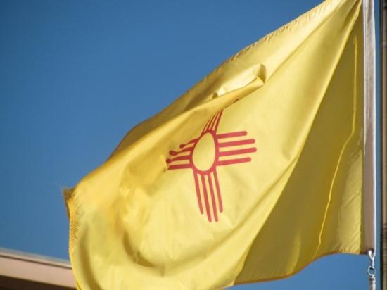Glorieta, Нью-Мексико: the new mexico flag...