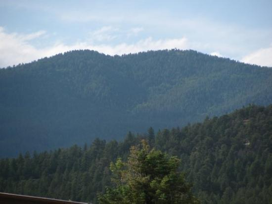 Glorieta, Νέο Μεξικό: the tallest moutain in NM