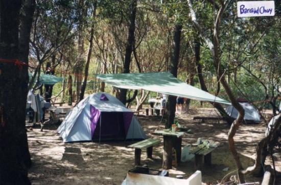 Camping en Barra del Chuy (frontera URUGUAY/BRASIL)