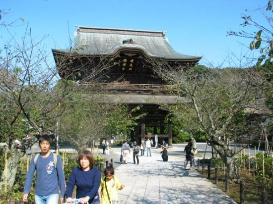 Sanmon, Kencho-Ji Temple. - Picture of Kamakura, Kanagawa Prefecture - TripAd...