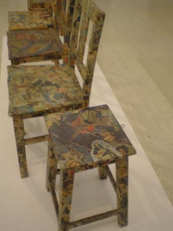 Musée Calouste-Gulbenkian : Original chairs
