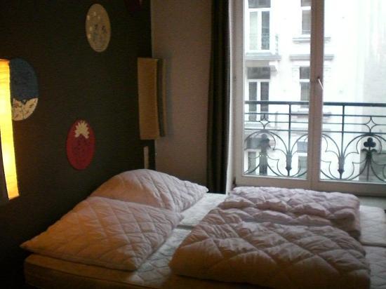 Five Elements Hostel Frankfurt: Habitacion doble