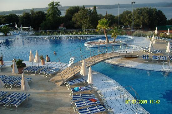 Tar, Croatia: hotel pool