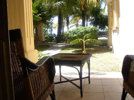 Hotel Les Cocotiers: La terrasse
