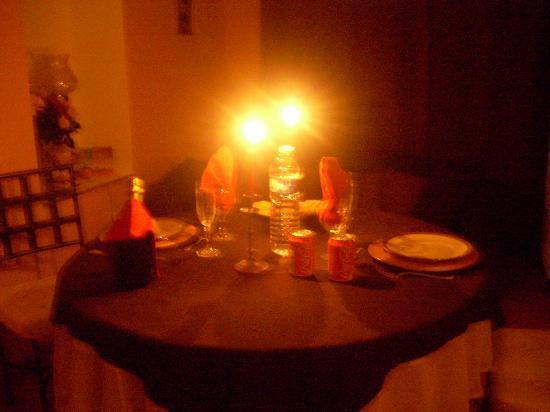 "Le Moulin de Bray: La table preparee par ""Catherine"""