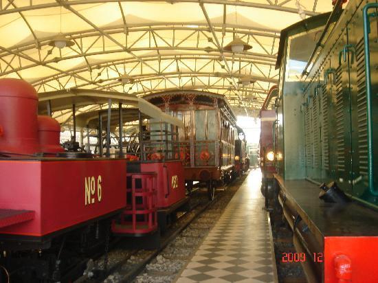 Le musée Rahmi M. Koç : Trains