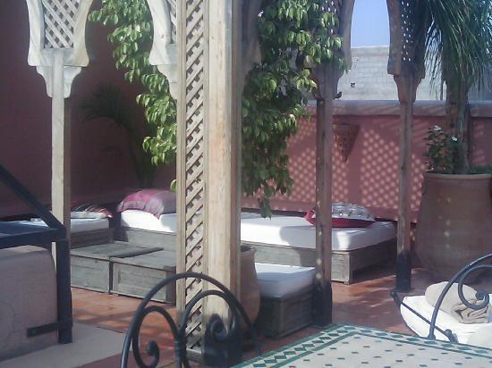 Riad Al Kadar : la terrasse
