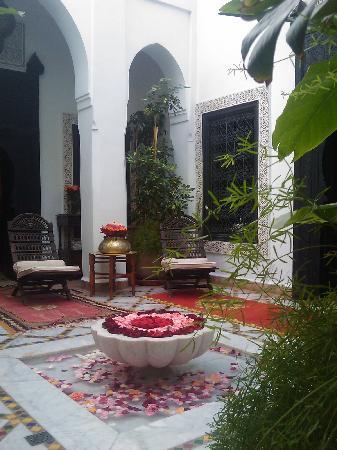 Riad Al Kadar : le patio