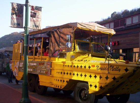 Just Ducky Tours, Inc. : Our Duck Boats depart at Station Square