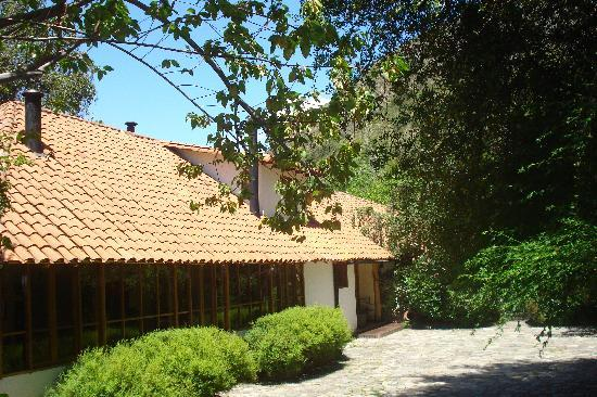 Lodge Andino El Ingenio : on the way to the front door of your home away from home