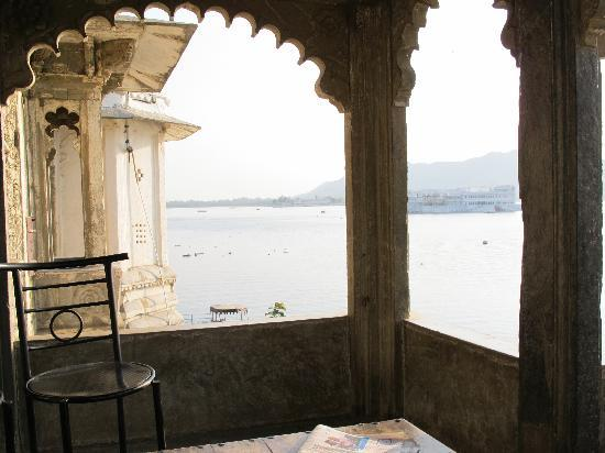 Lal Ghat Guest House: View from the communal area
