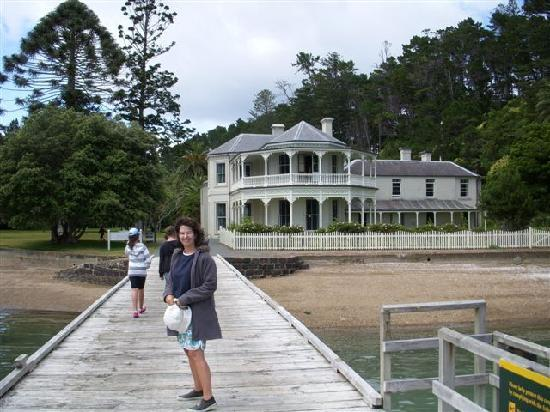 Kawau Island, New Zealand: mansion house