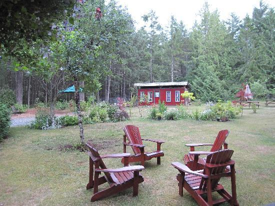 Cedar Song B&B and Cottage : The surroundins