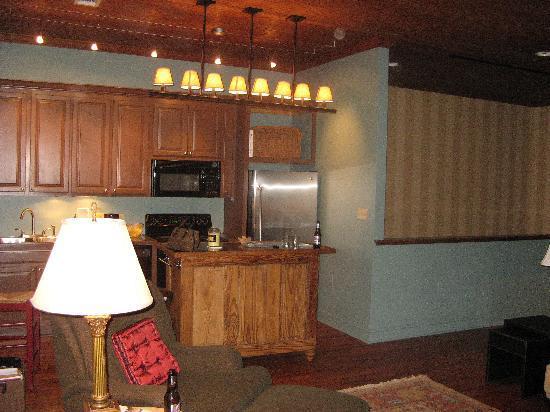 Franklin Cruise: Kitchen Area