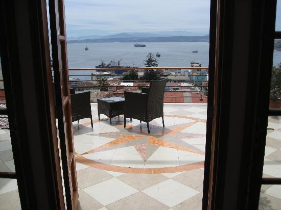 Hotel Boutique Acontraluz: Terrace View - Beautiful
