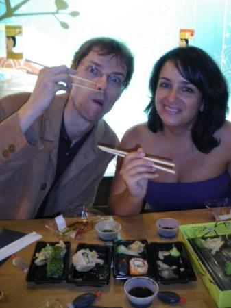 Restaurant Fujiya of Japan : Mi primera cena en un japonés, Zurich 21.09.09