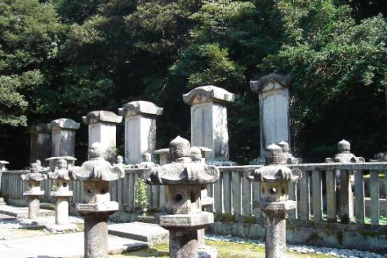 Tombs of Mori Family, Hagi, Yamaguchi Pref., Japan