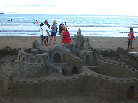Hinunangan, Filipinas: sand castle festival'09