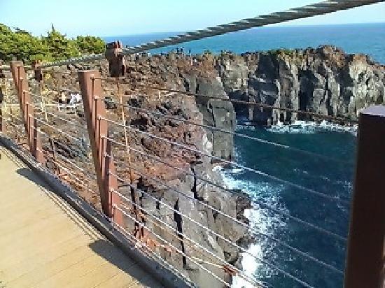 つり橋から。水がとってもきれい。 - Picture of Jogasaki Coast, Ito ...