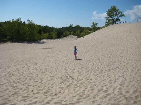 Sandbanks Provincial Park: Hiking at Sandbanks.