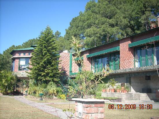 Baikunth Resort Kasauli: View of their restaurant