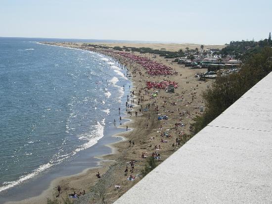 Roque Nublo: (beach)
