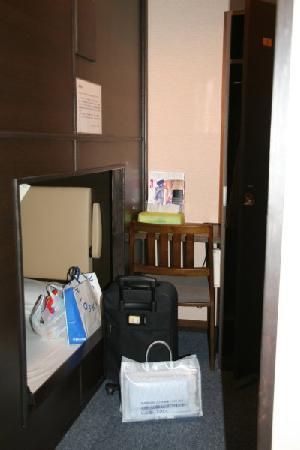 Capsule Cabin Puchi Nagoya : 室内 (ペット下段)