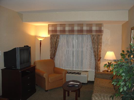 Homewood Suites by Hilton Burlington: Living room
