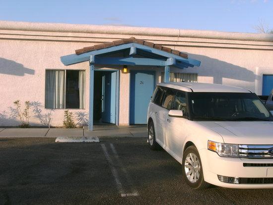 Santa Fe Motel: von aussen