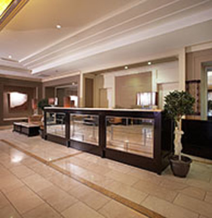 Shamrock Lodge Hotel Athlone: RECEPTION