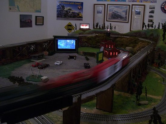 Tuckerton Junction Railroad Co.: display