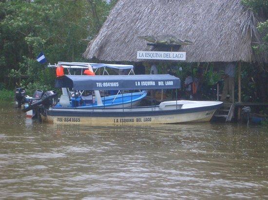 San Carlos, Nikaragua: Muelle del lodge