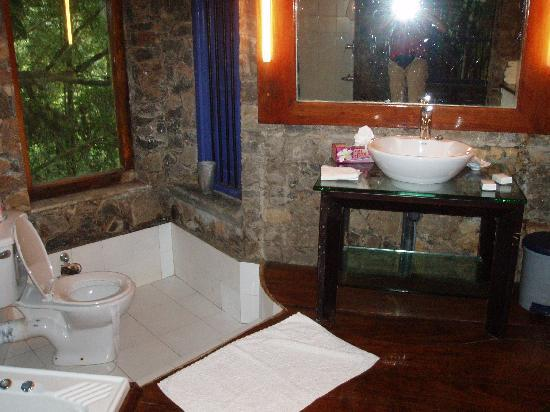 Boulder Garden Hotel : bathroom