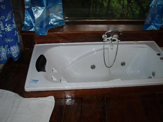 Boulder Garden Hotel : bathtub