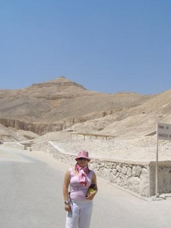 Tomb of Ramses III: Luxor - Valley of Kings  Too hot!