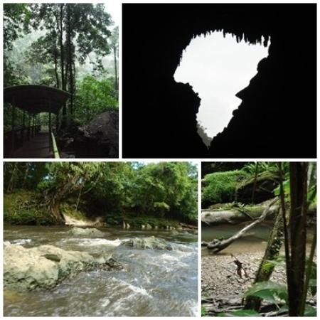 Kalimantan, Indonesia: Mulu National Park, Lincoln profile at Deer Cave, Mulu National Park, Melinau river; Mulu.
