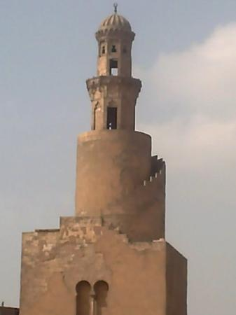 Mosque of Ibn Tulun: minareto