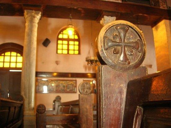 Le Vieux Caire (Quartier copte) : interno di una chiesa copta