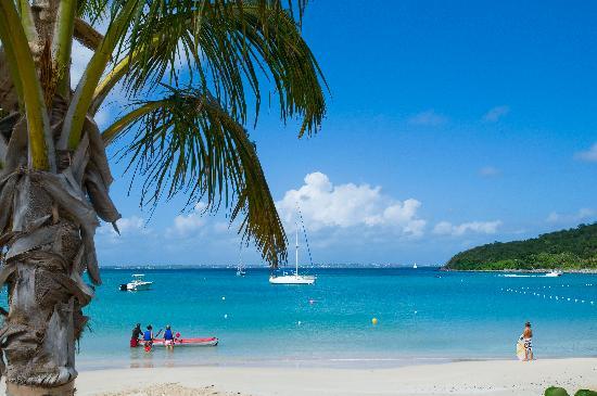 Hotel Riu Palace St Martin: White Sand Beach