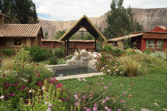 Casa Colibri eco-Lodge : Le plan d'eau