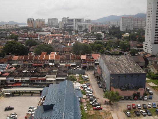 Hotel Jen Penang: View from room window